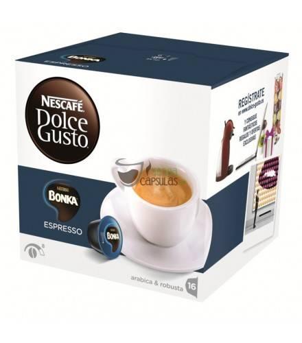 Nescafé Dolce Gusto® Bonka Espresso - 16 cápsulas