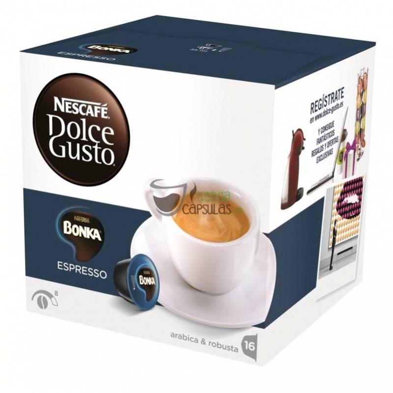 1e81fdca7 Cápsulas Dolce Gusto® Nescafé® - Bonka Espresso - 16 unidades