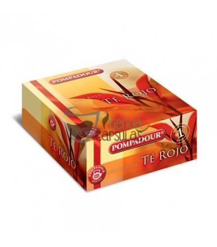 Pompadour® Té Rojo - 100 bolsitas