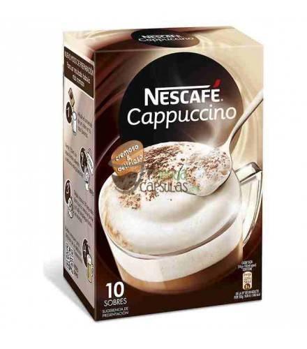 Nescafé® Cappuccino soluble - 10 sobres