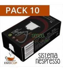 10 Cápsulas Recargables Emocup - Nespresso®*