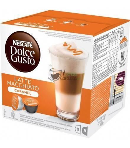 Nescafé Dolce Gusto® Latte Macchiato Caramelo - 16 cápsulas