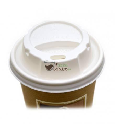 Tapa para vaso de cartón para café 180cc