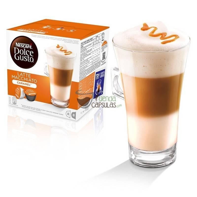 C psulas dolce gusto nescaf latte macchiato caramelo - Porta cialde nescafe dolce gusto ...