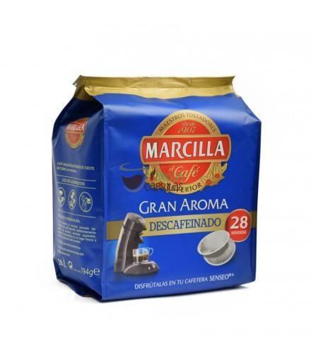 Marcilla - Senseo® Descafeinado - 28 monodosis