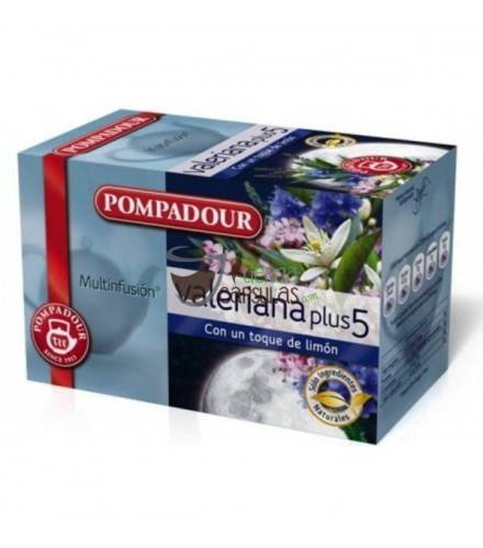 Pompadour® Valeriana plus 5 - 20 bolsitas