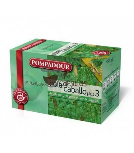 Pompadour® Cola de caballo plus3 - 20 bolsitas