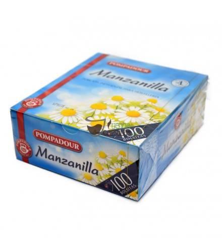 Pompadour® Manzanilla - 100 bolsitas