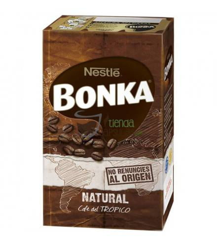 Bonka Café molido natural del trópico - 250 g.