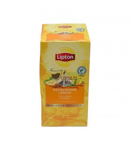 Infusión pirámide Lipton - Té Negro Limón - 25 unidades