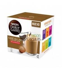 Cápsulas Dolce Gusto® Nescafé® - Café con Leche Descafeinado - 16 unidades