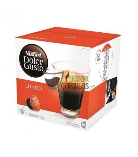 Cápsulas Dolce Gusto® Nescafé® - Lungo - 16 unidades