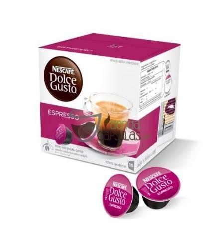 Cápsulas Dolce Gusto® Nescafé® - Espresso - 16 unidades