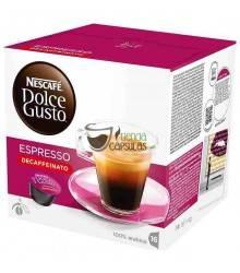 Cápsulas Dolce Gusto® Nescafé® - Espresso Descafeinado - 16 unidades