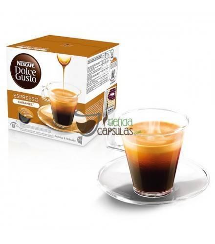 Cápsulas Dolce Gusto® Nescafé® - Espresso Caramel - 16 unidades