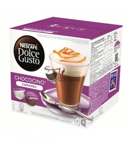 Cápsulas Dolce Gusto® Nescafé® - Chococino Caramel - 16 unidades (8 tazas)