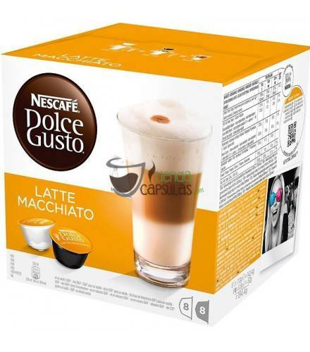 Cápsulas Dolce Gusto® Nescafé® - Latte Macchiato - 16 unidades