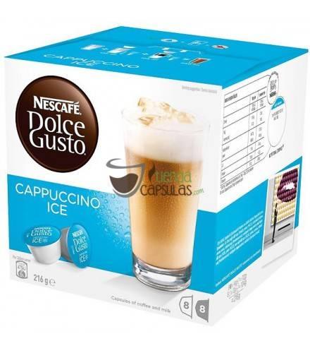 Cápsulas Dolce Gusto® Nescafé® - Cappuccino Ice - 16 unidades (8 tazas)