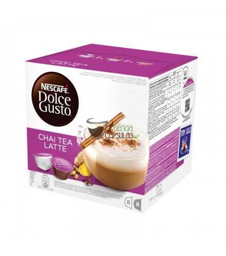 Cápsulas Dolce Gusto® Nescafé® - Chai Tea Latte - 16 unidades (8 tazas)