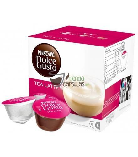 Cápsulas Dolce Gusto® Nescafé® - Tea Latte - 16 unidades (8 tazas)