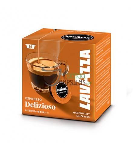 Cápsulas Lavazza - Espresso Delizioso - 16 unidades