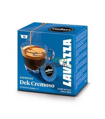 Cápsulas Lavazza - Espresso Dek Cremoso - 16 unidades