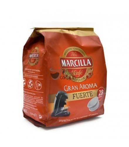 Cápsulas Senseo® Marcilla Fuerte - 28 monodosis