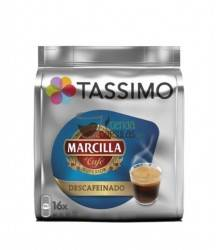 Cápsulas Tassimo Marcilla - Descafeinado - 16 unidades
