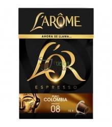 Cápsulas Nespresso®* L'Arôme Espresso - Puro Colombia - 10 unidades