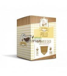 Cápsulas Dolce Gusto®** Origen & Sensations - Caldo Doña Carmen POLLO - 16 unidades