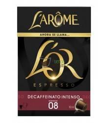 Cápsulas Nespresso®* L'Arôme Espresso - Decaffeinato Intenso - 10 unidades
