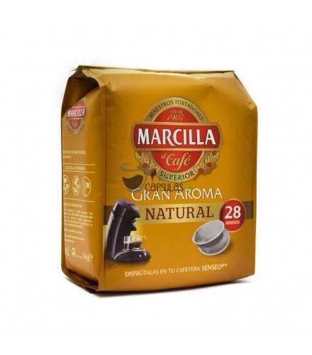 Cápsulas Senseo® Marcilla Natural - 28 monodosis