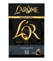 Cápsulas Nespresso®* L'Arôme Espresso - Fortissimo - 10 unidades