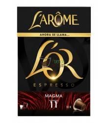 Cápsulas Nespresso®* L'Arôme Espresso - Magma - 10 unidades