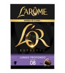 Cápsulas Nespresso®* L'Arôme Espresso - Lungo Profondo - 10 unidades
