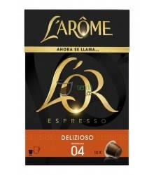 Cápsulas Nespresso®* L'Arôme Espresso - Delizioso - 10 unidades