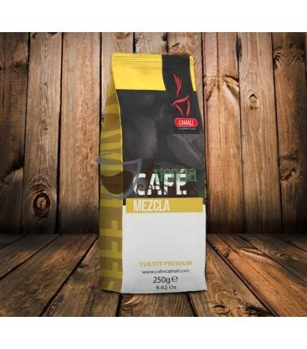 Café en grano Camali - Mezcla 30/70 - 250g