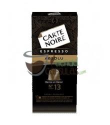 Cápsulas Nespresso®* Carte Noire - Nº13 Espresso Absolu - 10 unidades