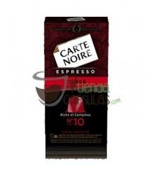 Cápsulas Nespresso®* Carte Noire - Nº10 Espresso Corsé - 10 unidades