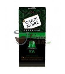 Cápsulas Nespresso®* Carte Noire - Nº6 Espresso Délicat - 10 unidades