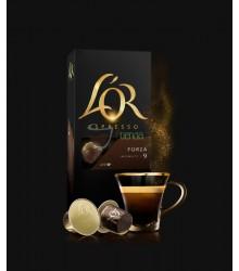 Cápsulas Nespresso®* L'OR - 9 Forza - 10 unidades