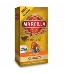 Cápsulas Nespresso®* Marcilla - 7 Clásico - 10 unidades