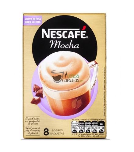 Café soluble Nescafé® - Cappuccino Mocha - 8 sobres