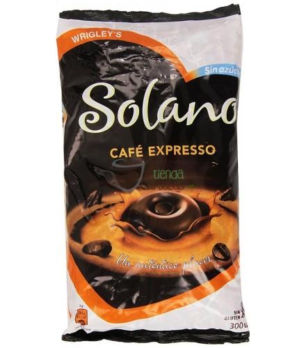 Caramelos Solano - Café Expresso sin azúcar - 300 unidades