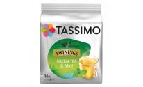 Cápsulas Tassimo Twinings - Té verde a la menta - 16 unidades