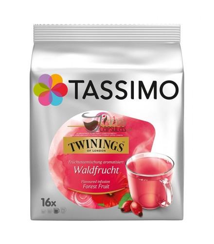 Cápsulas Tassimo Twinings - Frutas del Bosque - 16 unidades