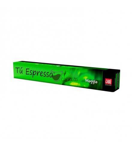 Cabú Coffee - Nespresso® Café Maggia - 10 cápsulas