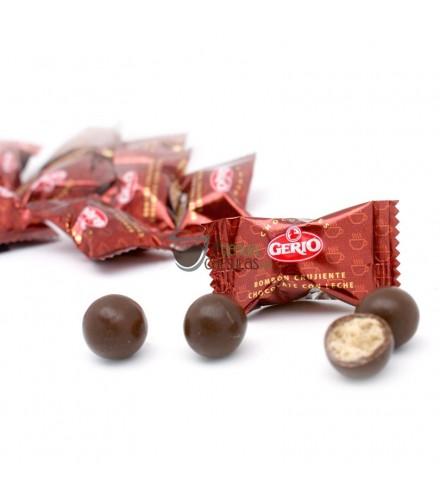 Bombones Crujientes de Chocolate con Leche - Gerio - Bote 180 unidades
