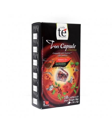 Cuidaté - Nespresso® Té Frutas del Bosque - 10 cápsulas