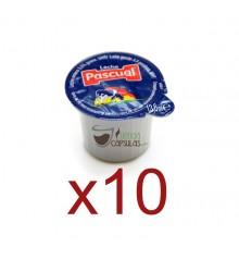 Leche en monodosis Pascual® - Bolsa de 10 unidades sueltas